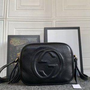 NWT G G Soho Small Leather Disco Bag